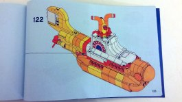 The Beatles' LEGO Yellow Submarine instructions