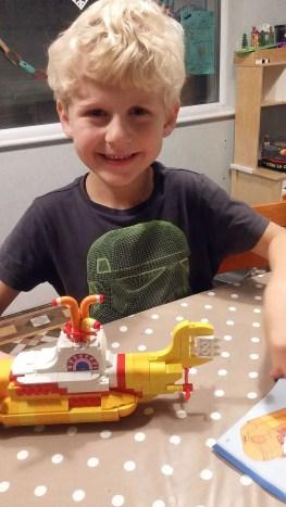 Building The Beatles' LEGO Yellow Submarine