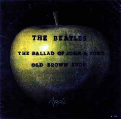 The Ballad Of John And Yoko single artwork - Brazil