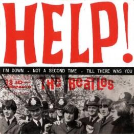 Help! EP artwork - Brazil