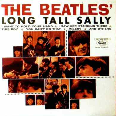 Long Tall Sally album artwork - Canada