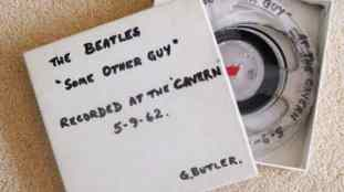 Tape containing Some Other Guy recorded at the Cavern Club, 5 September 1962