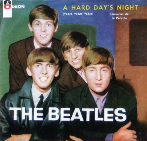 A Hard Day's Night album artwork - Chile