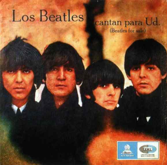 Los Beatles Cantan Para Usted (Beatles For Sale) album artwork - Chile