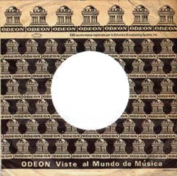 Odeon single sleeve - Bolivia, Colombia