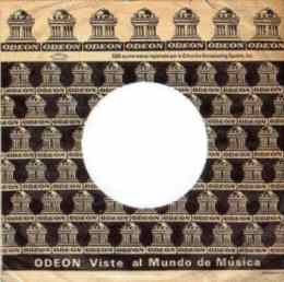 Odeon single sleeve - Bolivia, Colombia