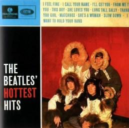 The Beatles' Hottest Hits album artwork - Denmark