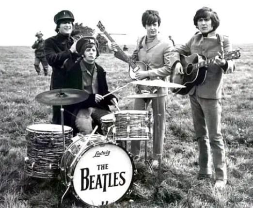 The Beatles' Drop-T logo, number four
