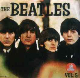 The Beatles Vol. 5 album artwork - Ecuador