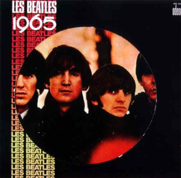 Les Beatles 1965 album artwork - France