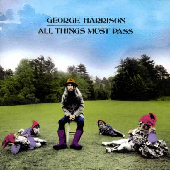 All Things Must Pass album colour artwork – George Harrison