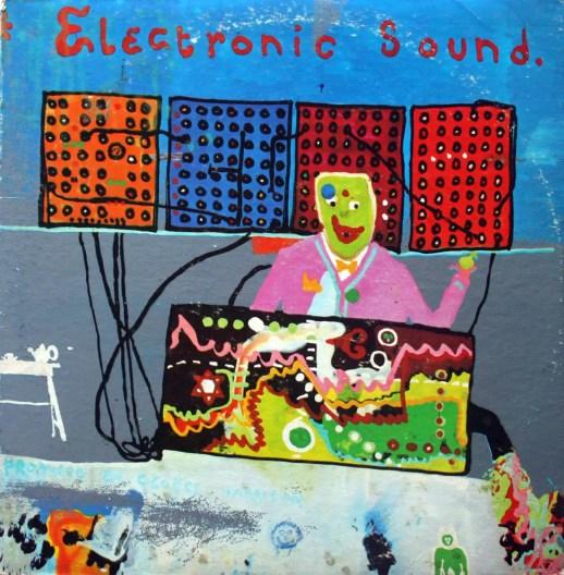 Electronic Sound album artwork - George Harrison