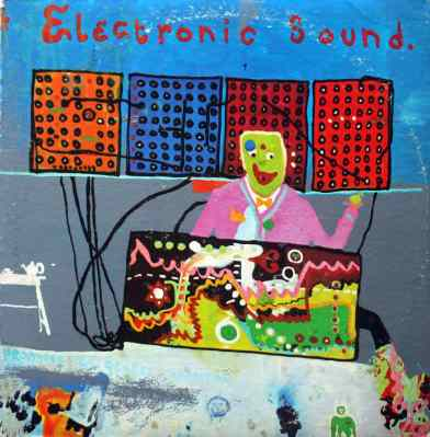 Electronic Sound album artwork - George Harrison