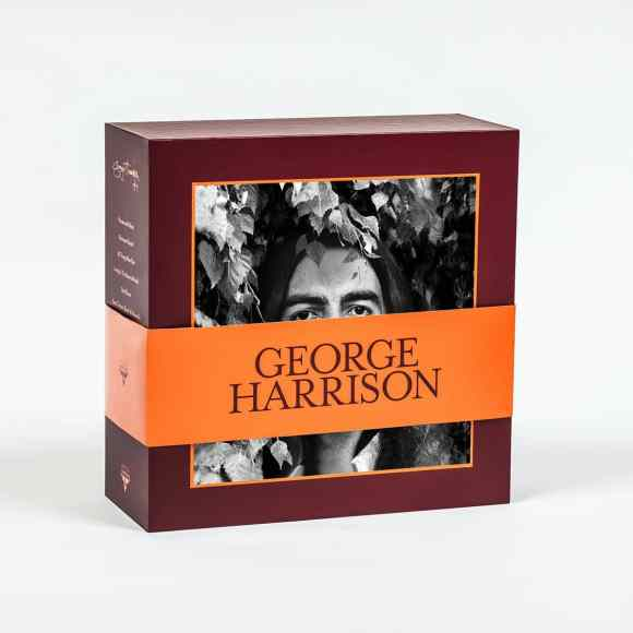 George Harrison Vinyl Collection box set –front cover