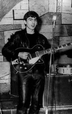 George Harrison in the Cavern Club, Liverpool