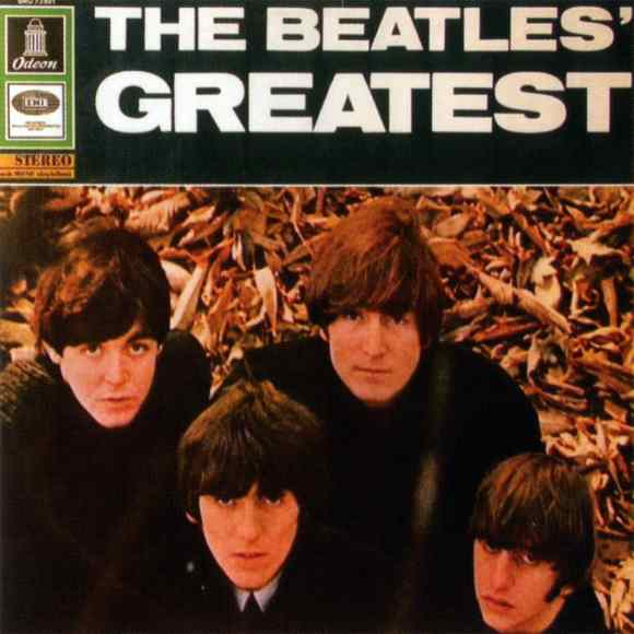 The Beatles' Greatest album artwork - Germany, Netherlands