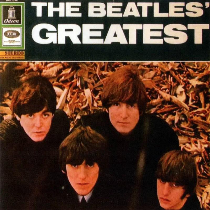 The Beatles' Greatest album artwork – Germany, Netherlands