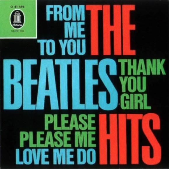 The Beatles' Hits EP artwork - Germany