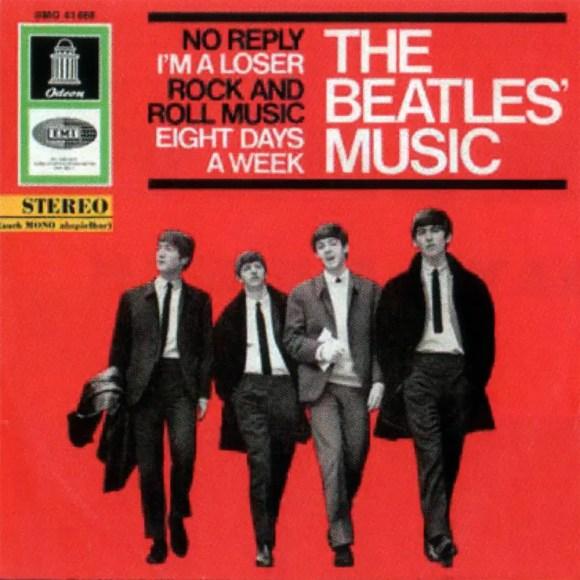 The Beatles' Music EP artwork - Germany