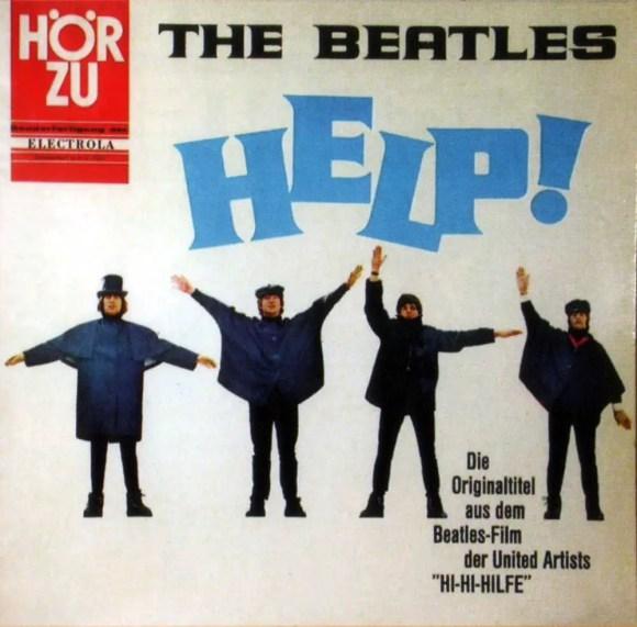 Help! album artwork - Germany
