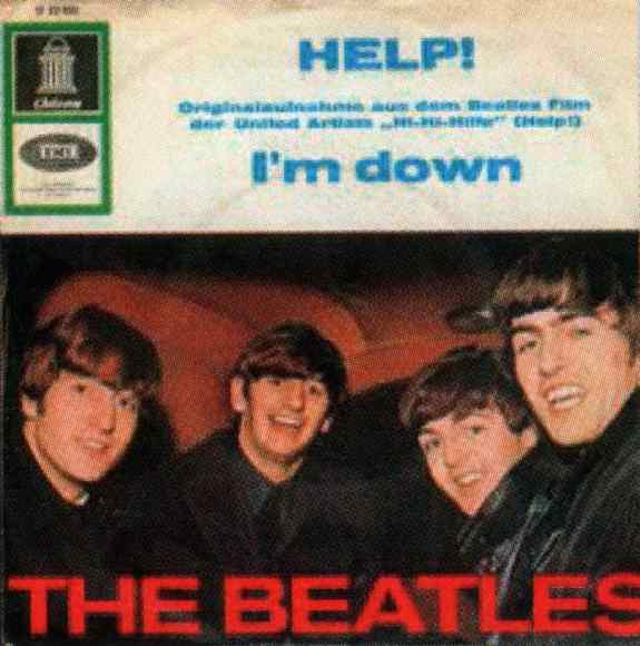 Help! single artwork - Germany