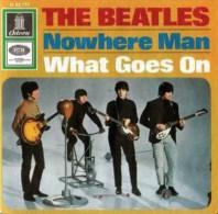 Nowhere Man single artwork - Germany