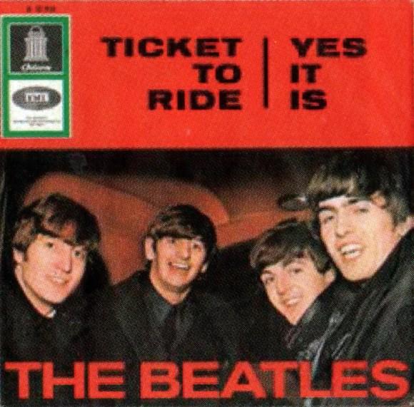 Ticket To Ride single artwork - Germany