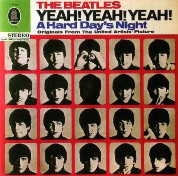 Yeah! Yeah! Yeah! A Hard Day's Night album artwork - Germany