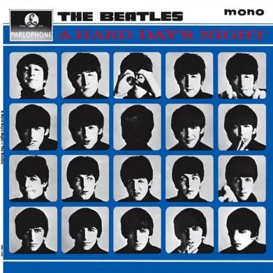 A Hard Day's Night album artwork