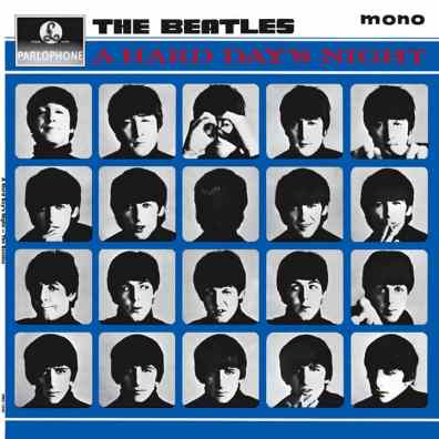 A Hard Day's Night album artwork