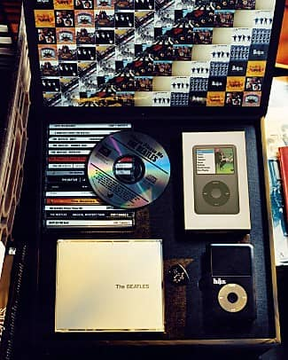 Beatles iPod collection, sold by Bloomingdales in 2008