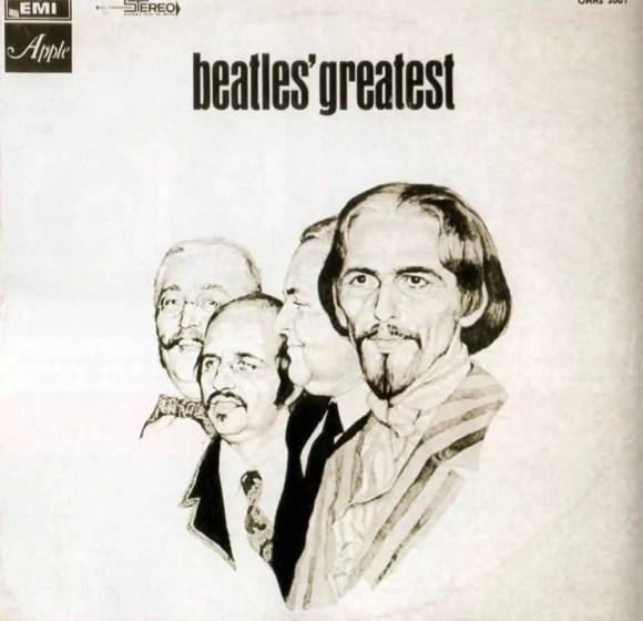 The Beatles' Greatest album artwork - Israel