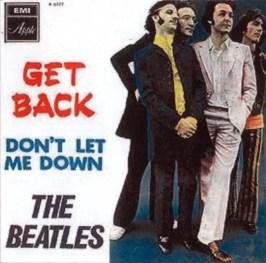 Get Back single artwork - Israel