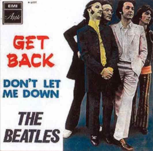 Get Back single artwork - Israel