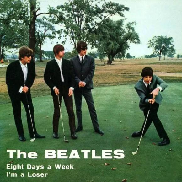 Eight Days A Week single artwork - Italy