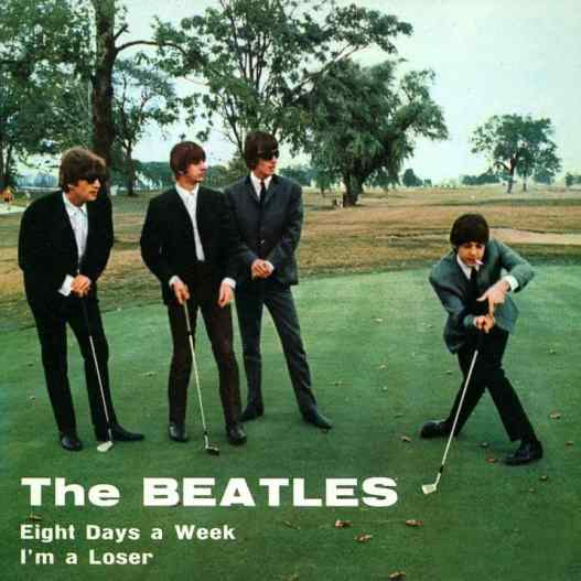 Eight Days A Week single artwork - Italy