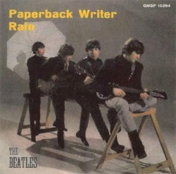 Paperback Writer single artwork - Italy