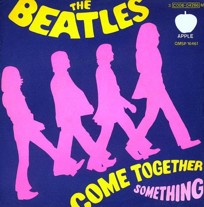 Something/Come Together single artwork – Italy