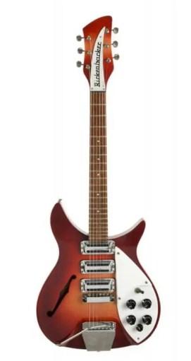 1964 Rose-Morris Rickenbacker given to Ringo Starr by John Lennon