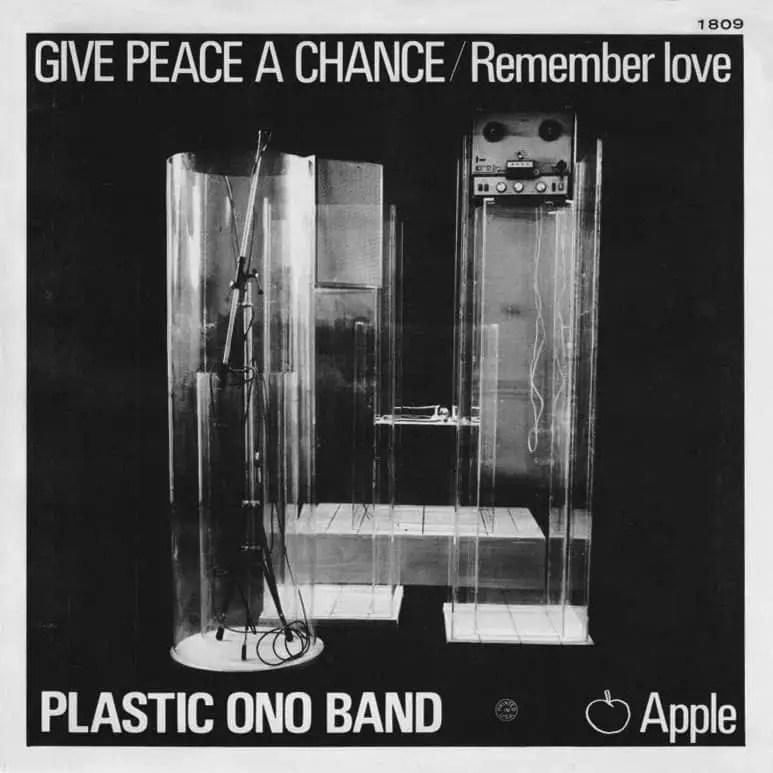 Give Peace A Chance by the Plastic Ono Band (USA single)