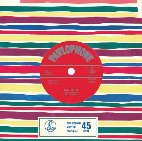 Love Me Do 50th anniversary reissue
