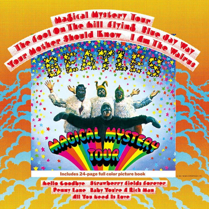 Magical Mystery Tour Album Lyrics