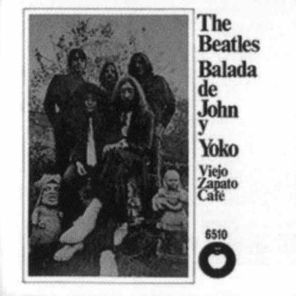 The Ballad Of John And Yoko single artwork - Mexico