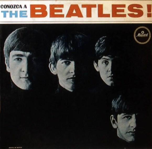 Conozca A The Beatles album artwork - Mexico