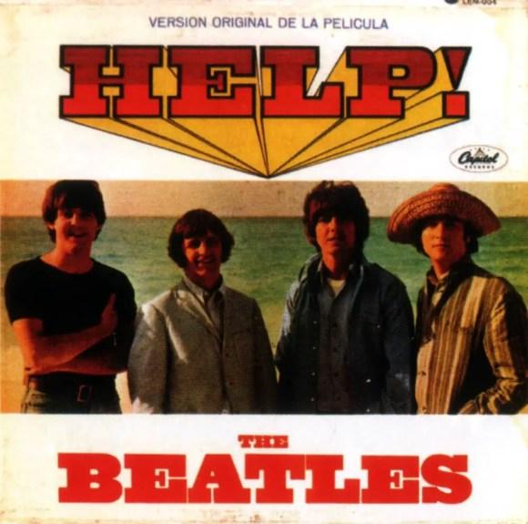 Help! album artwork - Mexico