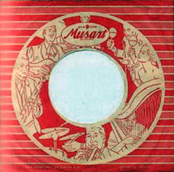 Musart single sleeve, 1964-65 - Mexico
