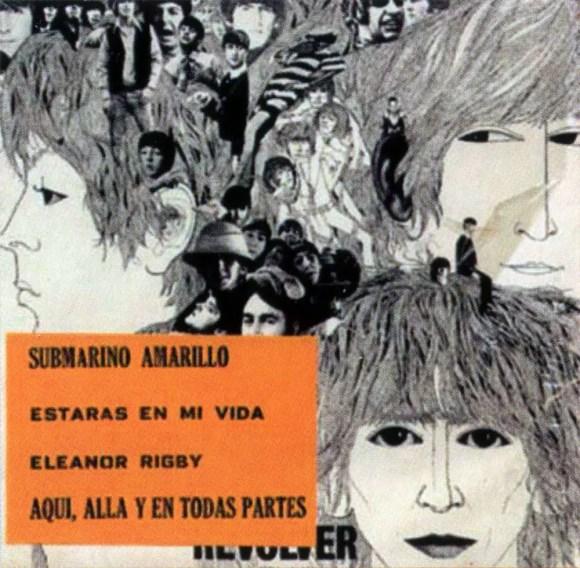 Yellow Submarine EP artwork - Mexico