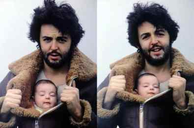 Paul and Mary McCartney, 1969