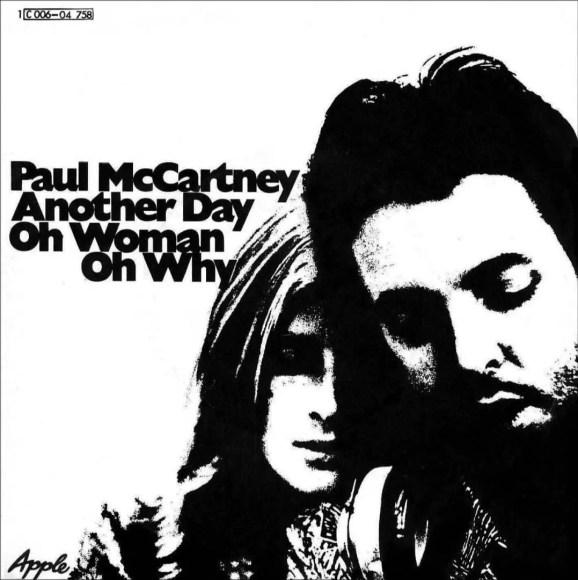 Paul McCartney: Another Day single artwork