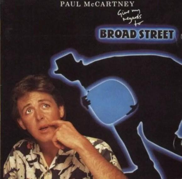 Give My Regards To Broad Street album artwork - Paul McCartney